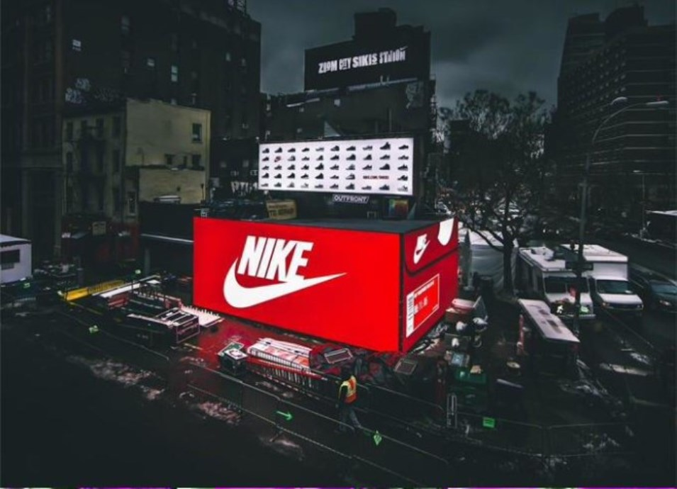 pop-up store, nike